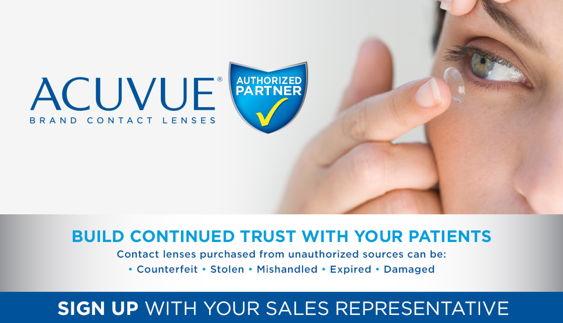Acuvue® Authorized Partner