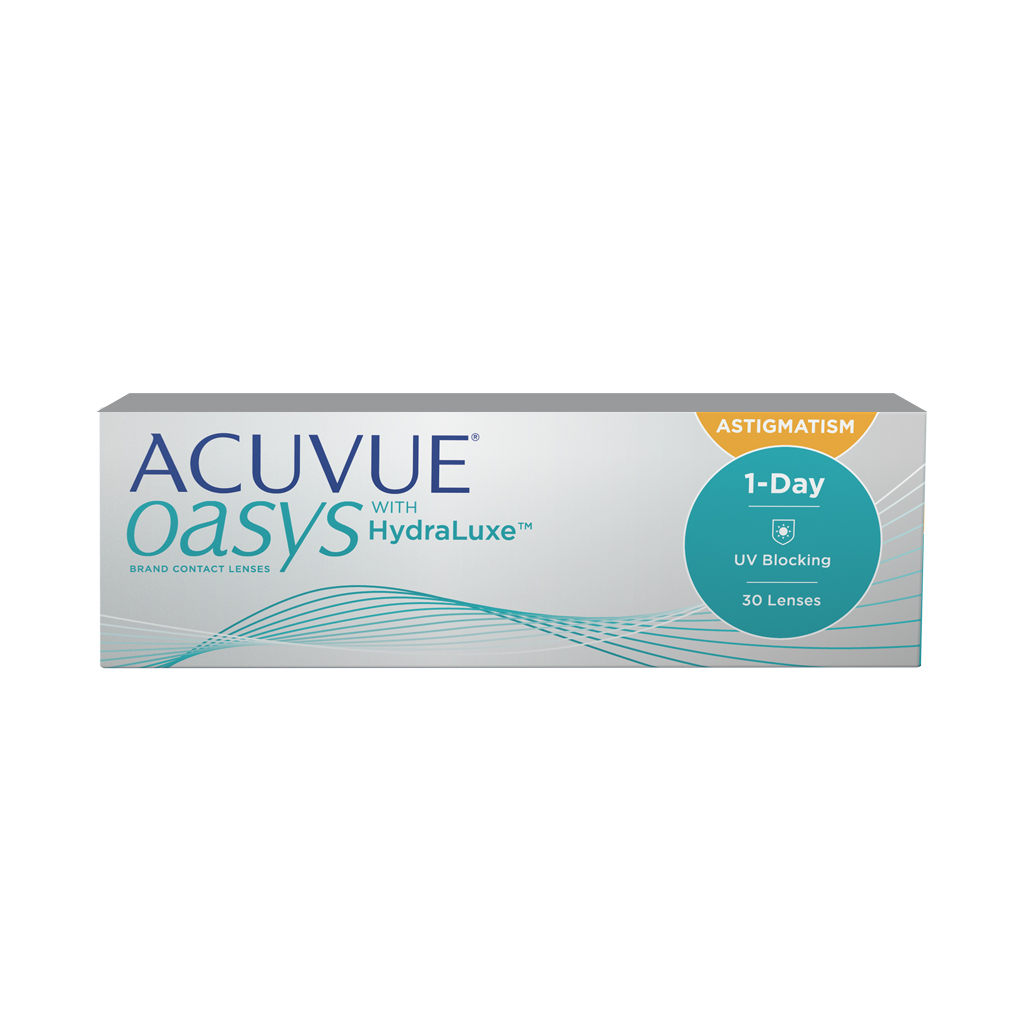 ACUVUE OASYS® 1-Day for ASTIGMATISM