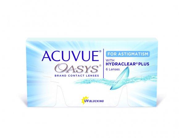 ACUVUE OASYS® 2-Week for Astigmatism