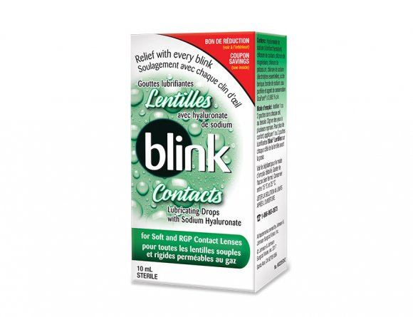 Blink Contacts® Lubricating Lens Drops Front
