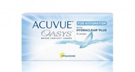 ACUVUE OASYS® 2-Week for Astigmatism