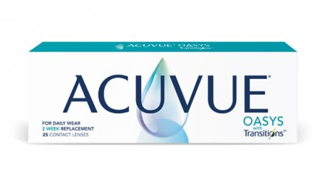 ACUVUE® OASYS with Transitions™ product