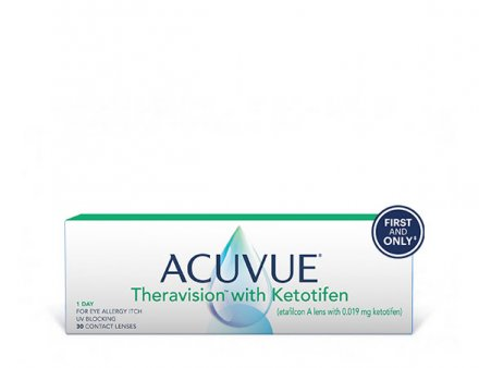 ACUVUE® Theravision® with Ketotifen