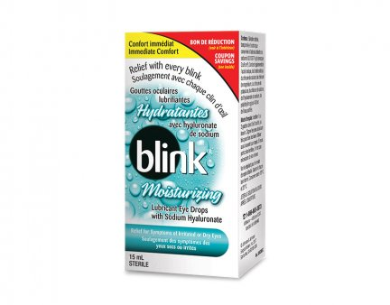 Blink® Moisturizing Lubricant Eye Drops