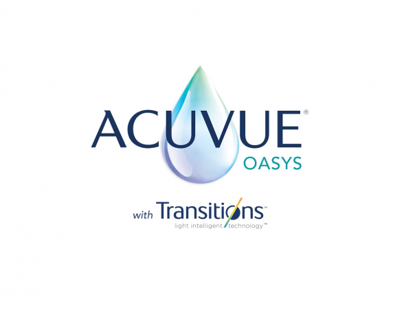 ACUVUE® Oasys with Transitions™ Light Intelligent Technology™ logo