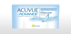 ACUVUE® ADVANCE® Brand for ASTIGMATISM