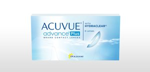 ACUVUE® ADVANCE® PLUS Brand